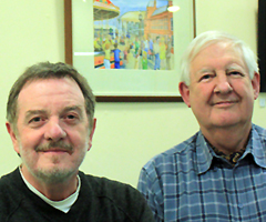 Brian Wheeler and Tony Godfrey of Eastern Valley Arts