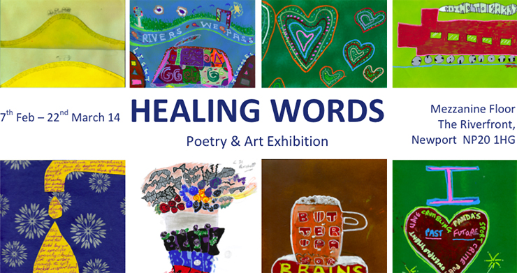 Healing Words Artwork and Poetry