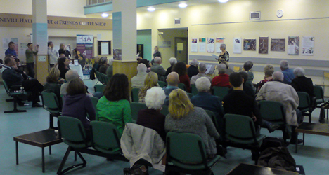 Healing Words Poetry Evening Nevill Hall Hospital Oct 2009