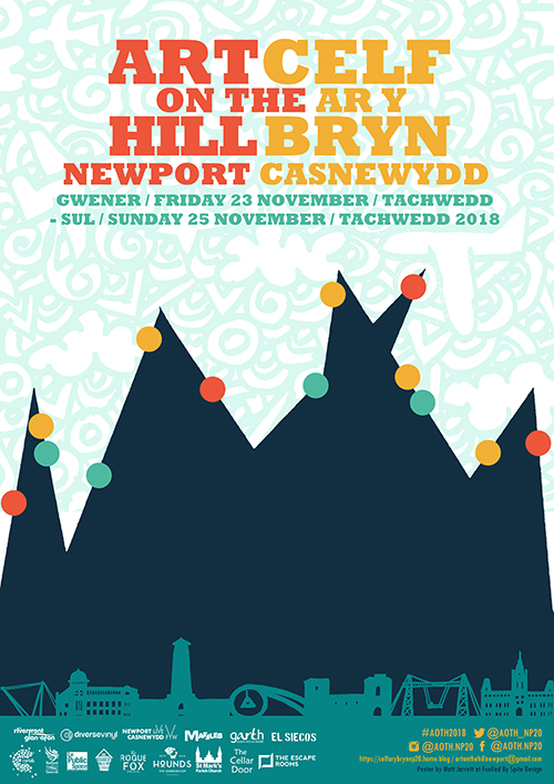Art on the Hill 2018 Poster