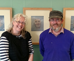 Artists Lucy and Alan Bateman