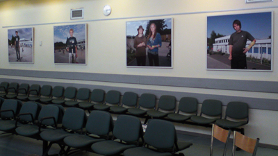 Face to Face images on show at Nevill hall Hospital